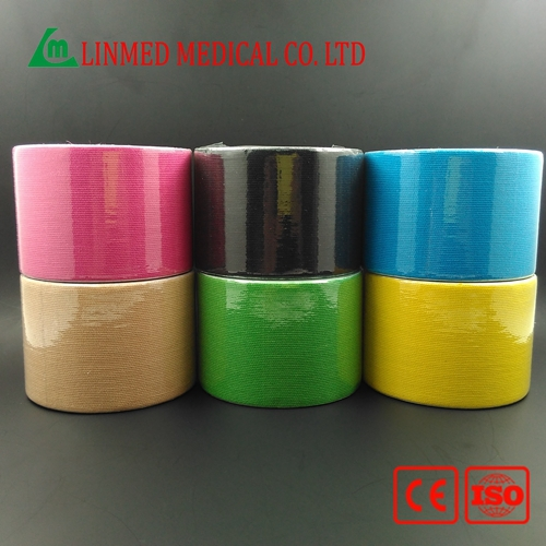 Factory Direct Production Pre Cut Kinesiology Tape