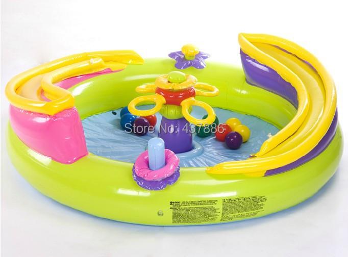 jouets gonflables jeu d 39 enfant maison oc an piscine balles avec 10 balles oc an maisons. Black Bedroom Furniture Sets. Home Design Ideas