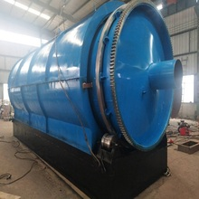 SGS Waste Plastic Tyre Recycling Machine to oil