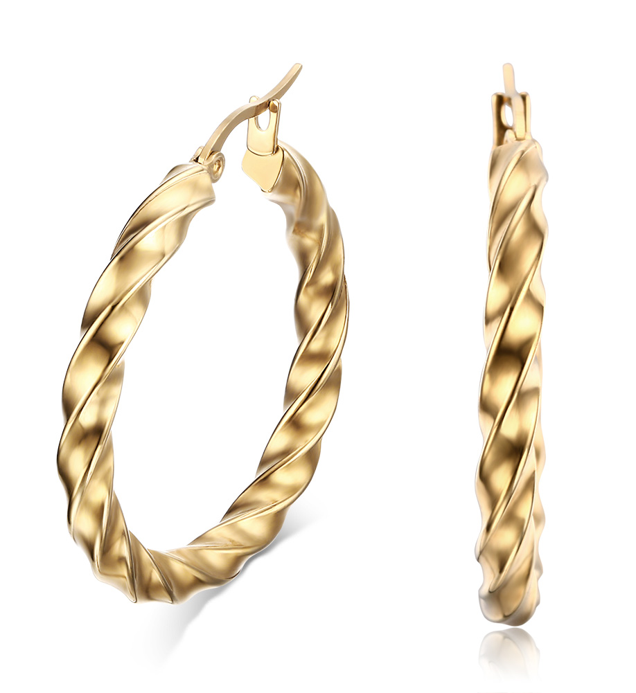 Twisted Wire Hoop Earring Wholesale, Hoop Earrings Suppliers - Alibaba