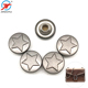 Custom fashion garment accessories decorative metal rivets buttons rivet clothing studs for leather
