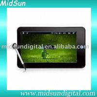 7 inch capacitance touch screen built in 3G and GPS android 2.2 sim card with GSM phone ZT-180 Dual-Core tablet pc mid