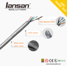 Custom CAT5/CAT5e/CAT6 UTP/FTP Lan Cable 23AWG 24AWG BC CCA for indoor/outdoor
