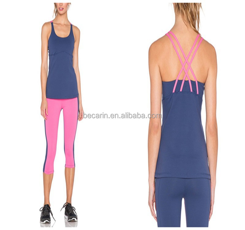 OEM dry fit womens yoga gym wear, sport wear, gym clothing