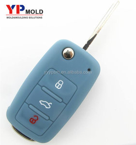 Precision plastic injection mould factory customized car key molding