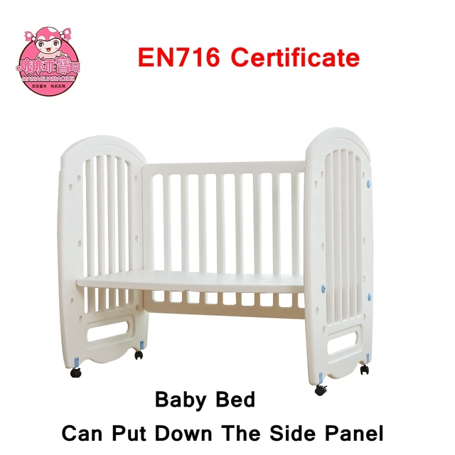 EN716 Standard Baby Relax Daybed Toddler Bed With White Color