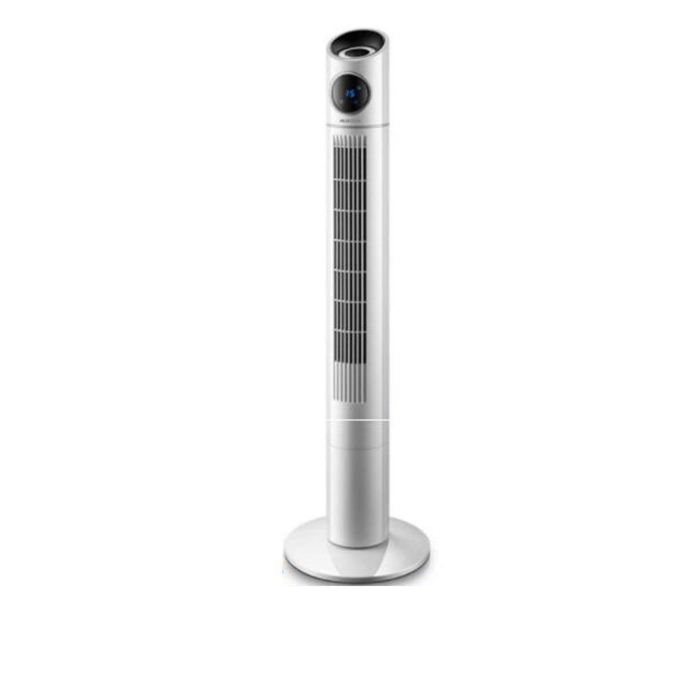 Mini fan Electric Fan Vertical Tower Fan Home Floor Fan Silent Remote Control Timing Desktop Shaking Head Leafless Fan