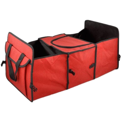 Красный 2 in1 багажнике торговый аккуратный тяжелых складной хранения