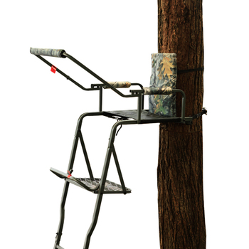 One person seat 16 feet treestand tree stand ladder with for One person tree stand