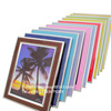 High class colorful standing PVC plastic photo frame