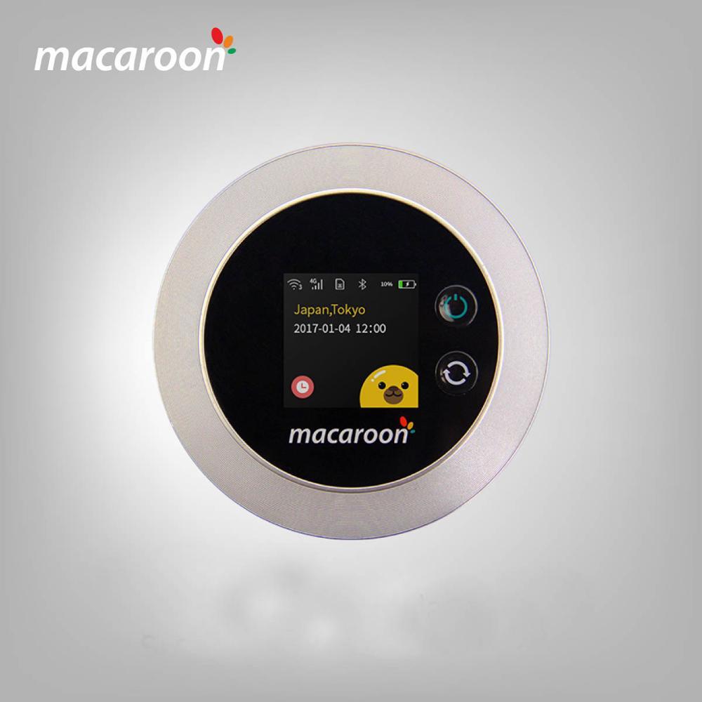 Macaroon M1 Travel Mate Portable Wifi Hotspot Asia Europe Africa America  Oceania Sim Free Roaming Private Network - Buy Sim Free Pocket Wifi
