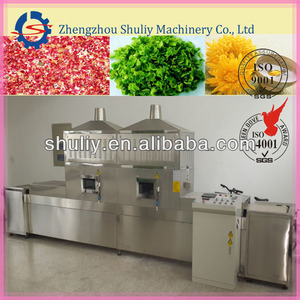 industrial microwave sterilizer/microwave tunnel dryer &sterilizer/microwave food dryer&sterilizer