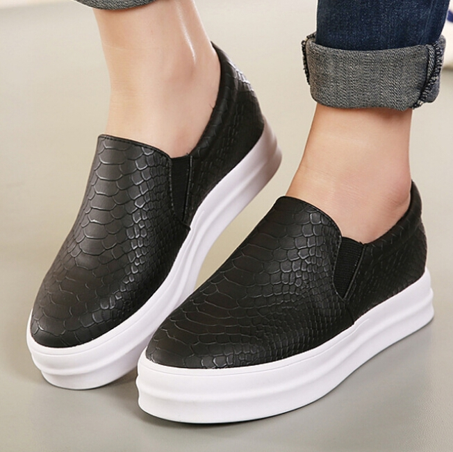 Flat Rubber Soled Shoes