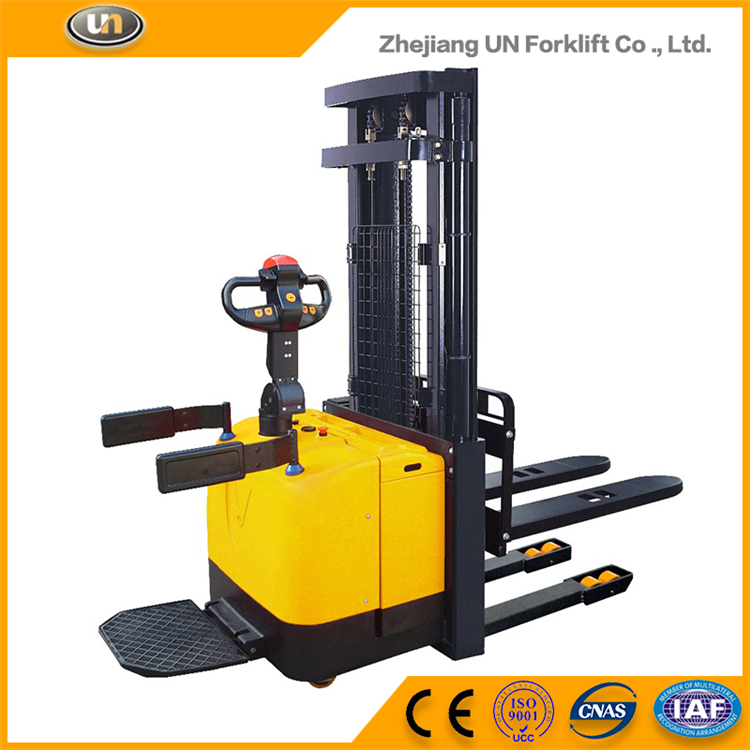 1.4T AC Motor Powered Pallet Truck Semi Electric Mini Stacker