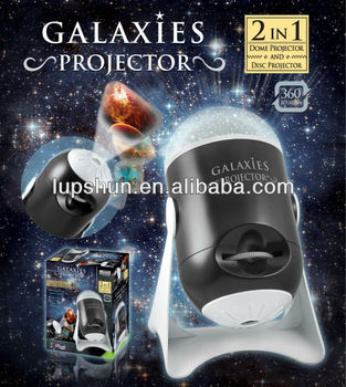 Plastic Dome U0026 Slide / Film Wall And Ceiling Galaxies Toy Projector
