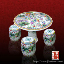Jingdezhen Supply and Custom High Quality Ceramic Factories for Garden Chairs and Tables