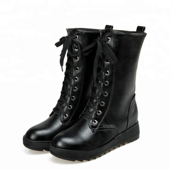 d69e6a71b388 latest design martin women winter casual shoes boots 2018 leather ankle  boots lady