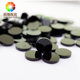 Round Cut 6.0mm black agate wholesale black onyx gem stones price natural agate slices factory price
