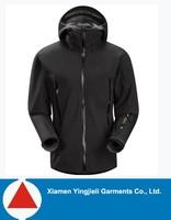 2014 New style black color man's ski jacket waterproof jacket ski wear parka