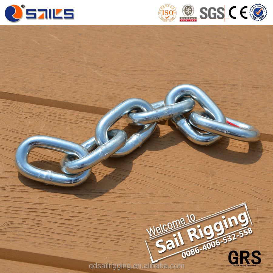 Link Chain Fastener G80 Lashing Rigging Load Chain
