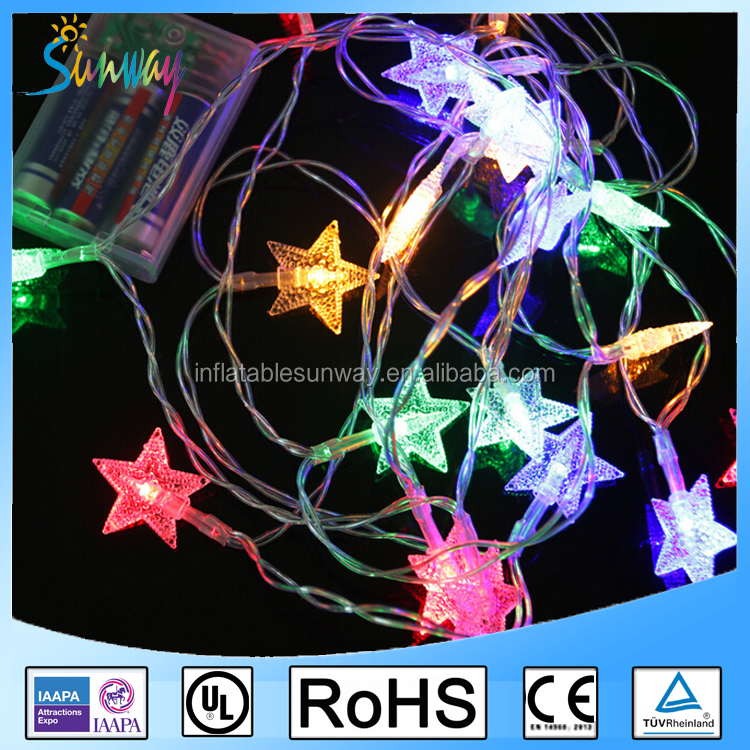 Star Batteries LED String Fairy Christmas Light / Small Battery Operated LED Light / LED Christmas Star String Lights