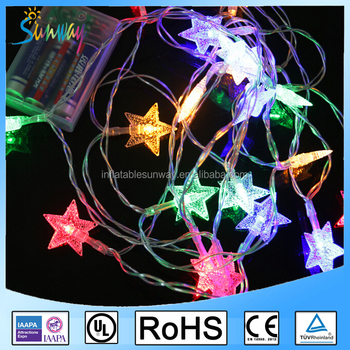 Star Batteries Led String Fairy Christmas Light Small Battery Operated Led Light Led Christmas Star String Lights Buy Battery Operated Mini Led