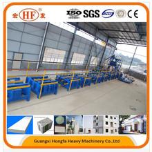Horizontal EPS Wall Partition Board Production Plant Wall Panel Machine