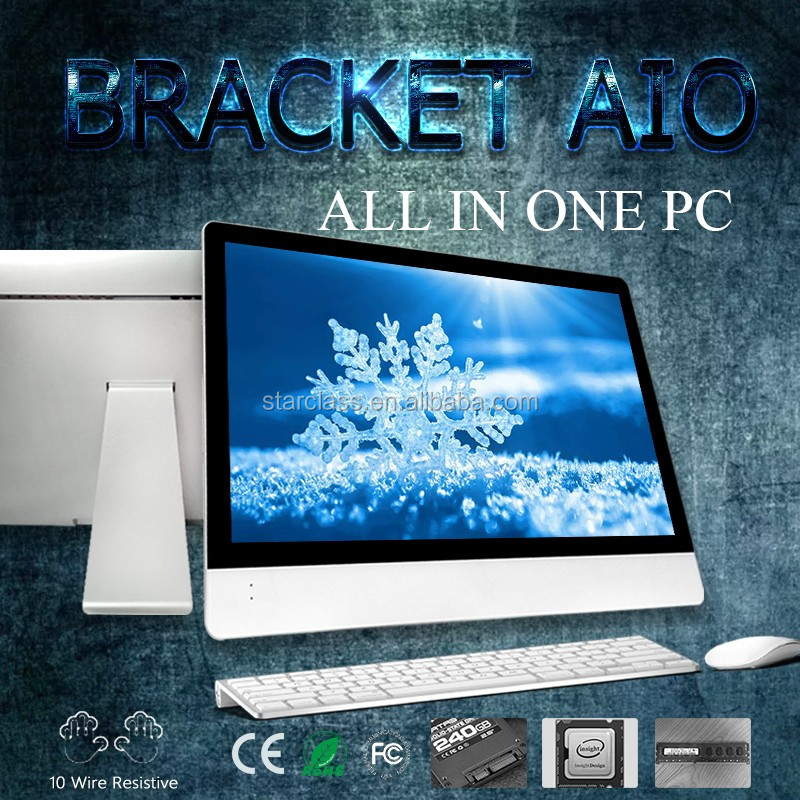low cost computer termin simple beautiful AIO AMD FX-8350 Eight-Core Intel Core 27 inch I5 4590 Desktop all in one PC Computer