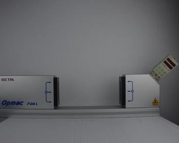 Opmac 70al3 laser durchmesser messung rohr draht kabel laser gauge