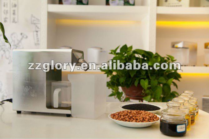 High quality peanut sesame mini oil mill for home use