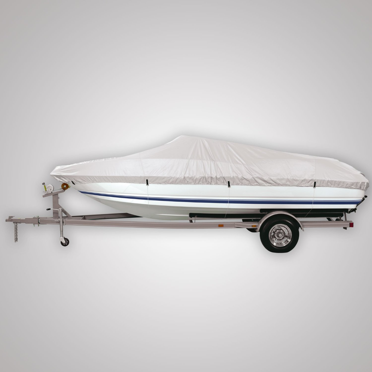 FH-BC601 FH Group Premium Water-Proof Heavy Duty Boat Cover
