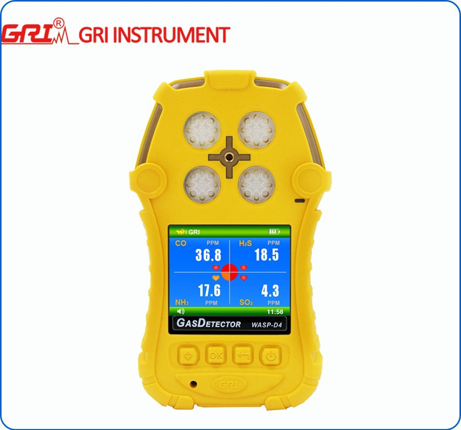 Multi gas analyzer for CH20, TVOC, H2S, NO2, SO2