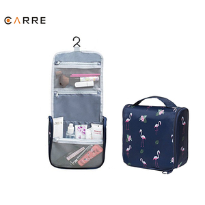 Stylish Outdoor Animal Pattern Folding Hanging Toiletry Cosmetics Travel Wash Bag