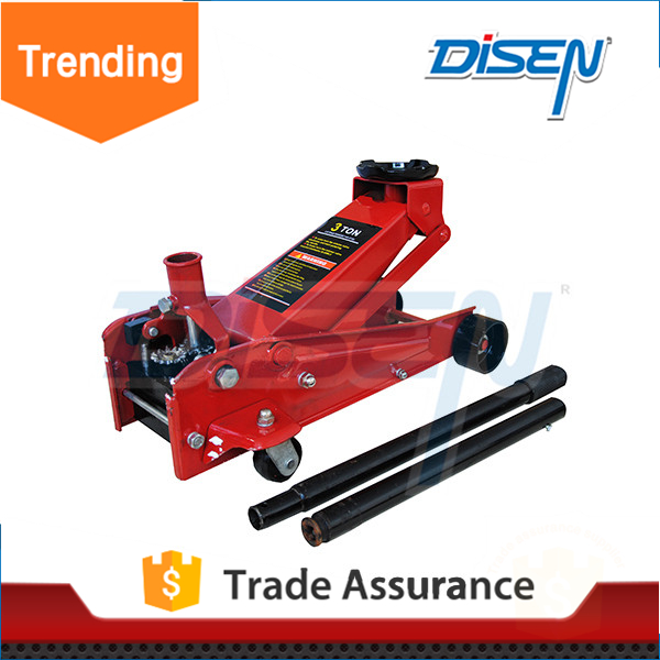 Premium hot sell 2012 newly aluminum floor 2T hydraulic car jack garage equipment low rpofile