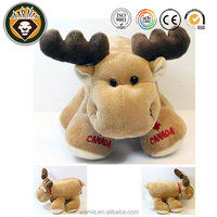 Canada Big Foot Moose 9 inch Plush Promotional Doll Stuffed Animal Toys