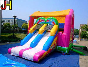 Best Sale Inflatable Jumps Colorful Bounce House Inflatable Trampoline Castle