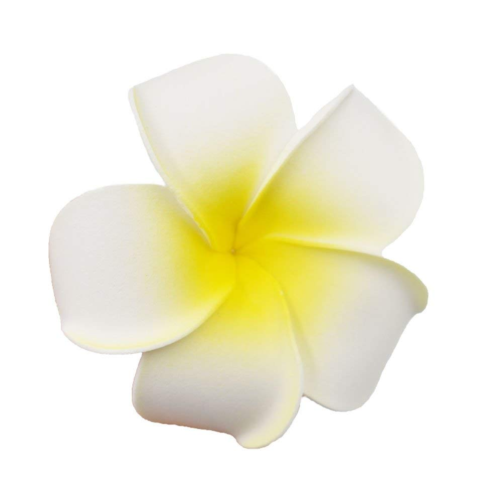 17649aa99 Get Quotations · YEDREAM 20 PCS Artificial Plumeria Rubra Flower Heads  Frangipani Wedding Decoration Flowers Plumeria Flower Head/