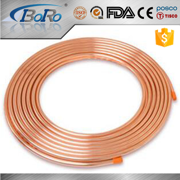 refrigerator type L K M copper pipe