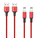 1M aukey usb cable 3.0 /android usb cable bulk /v8 usb cables for phones/Andorid/type-c