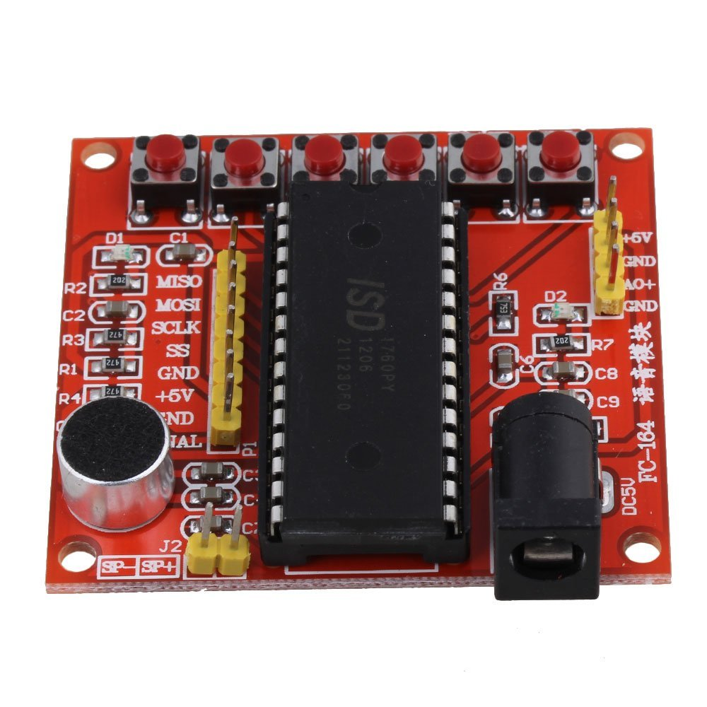 Buy BQLZR ISD1760 Voice Record Play Module For Arduino PIC AVR