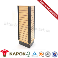 High quality simple kids clothing shop counter design store counter Red Kapok