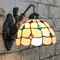 8inch Tiffany Wall lamp with material of stained glass 8S8-9W1