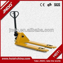 new 2014 manual Pallet forklift lifting equipment from china
