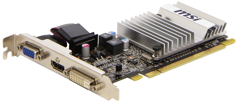 XFX HD545XCLH2 Radeon HD 5450 2GB DDR3 650 MHz PCI Express Graphic Card