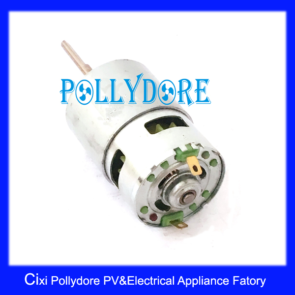 DC6/12V 42mm 775 Portable Fan DC Motor/ DC12V/ DC Fan Motor