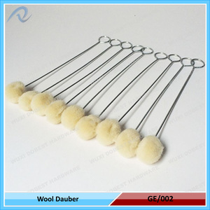 For Industrial Use Wool Daubers Brushes Primer Applicators