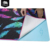 Premium quality and quick drying suede printed yoga towel for mat