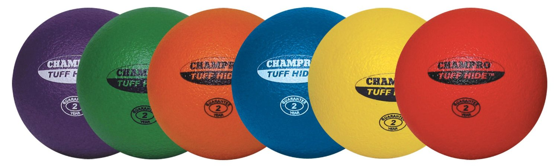 Champro Tuff Hide All Around Foam Set (Purple/Green/Orange/Royal/Yellow/Red, 8.5-Inch)