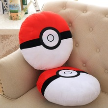 Stuffed Pokemon Plush Pillow Fashion Design 35CM Pokeball Elf Egg Toy