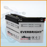 6N11A-1B 6V 11Ah battery for yamaha motorcycle parts